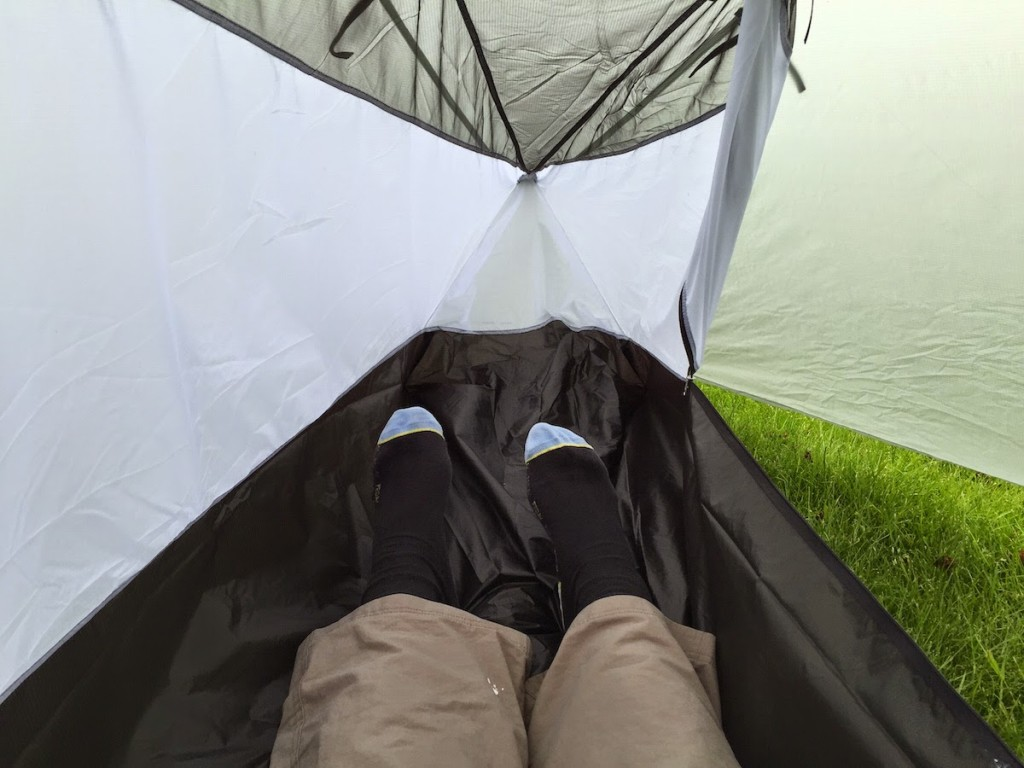 Note the PU-treated walls to stop cold winds and drips of condensation. The standard version has a 100% bugnet inner tent which is more suitable for ... & The Tarptent Notch backpacking tent u2014 First Impressions | Alex ...