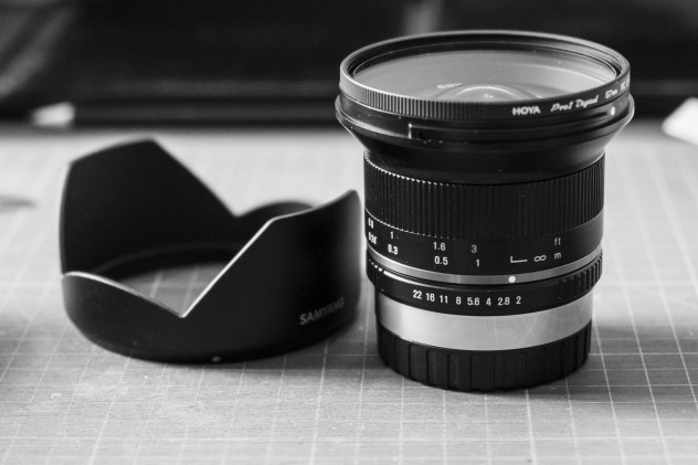 The Samyang 12mm f/2 for Fuji X mount