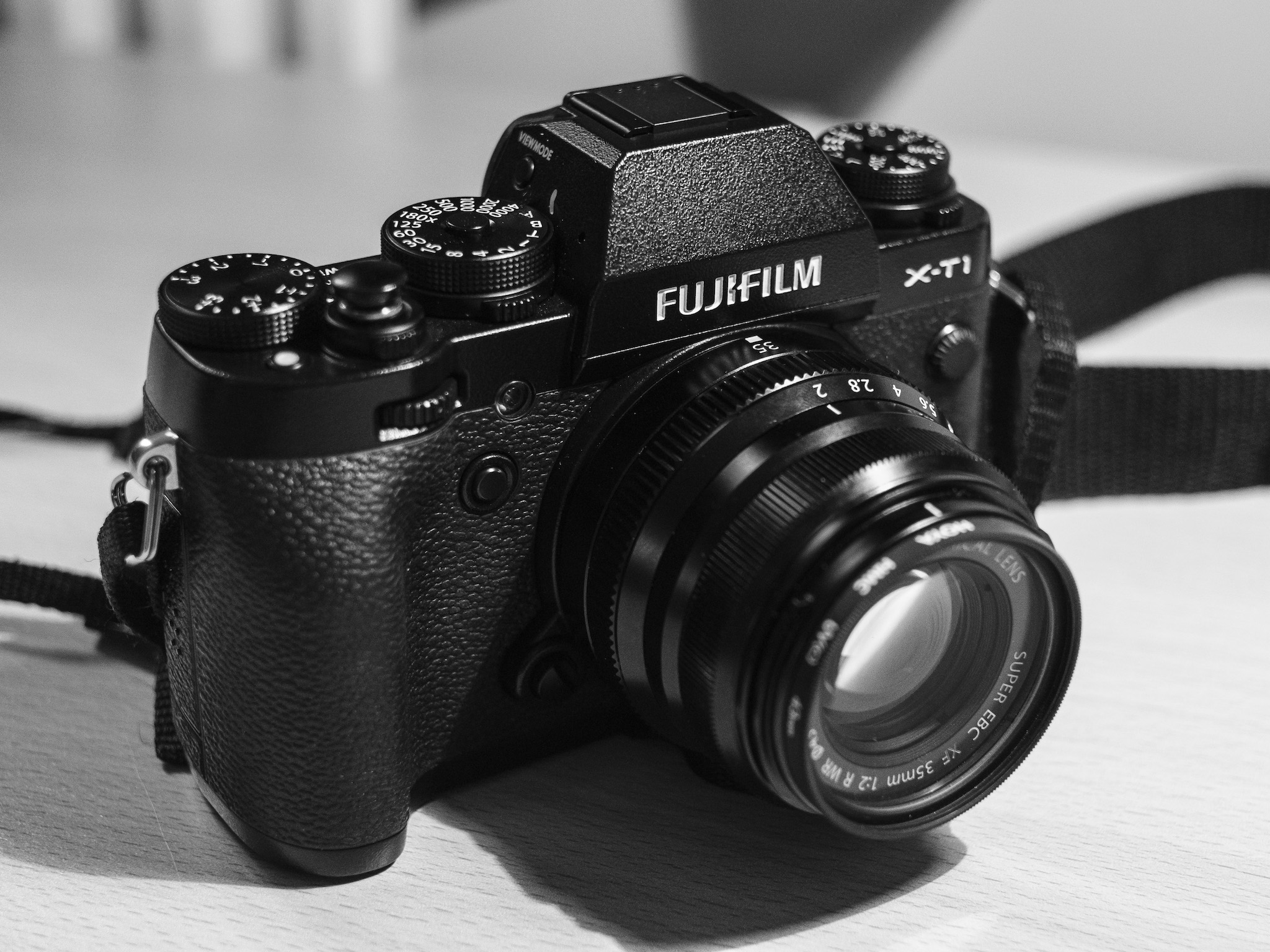 The XF35mm f/2 on the X-T1