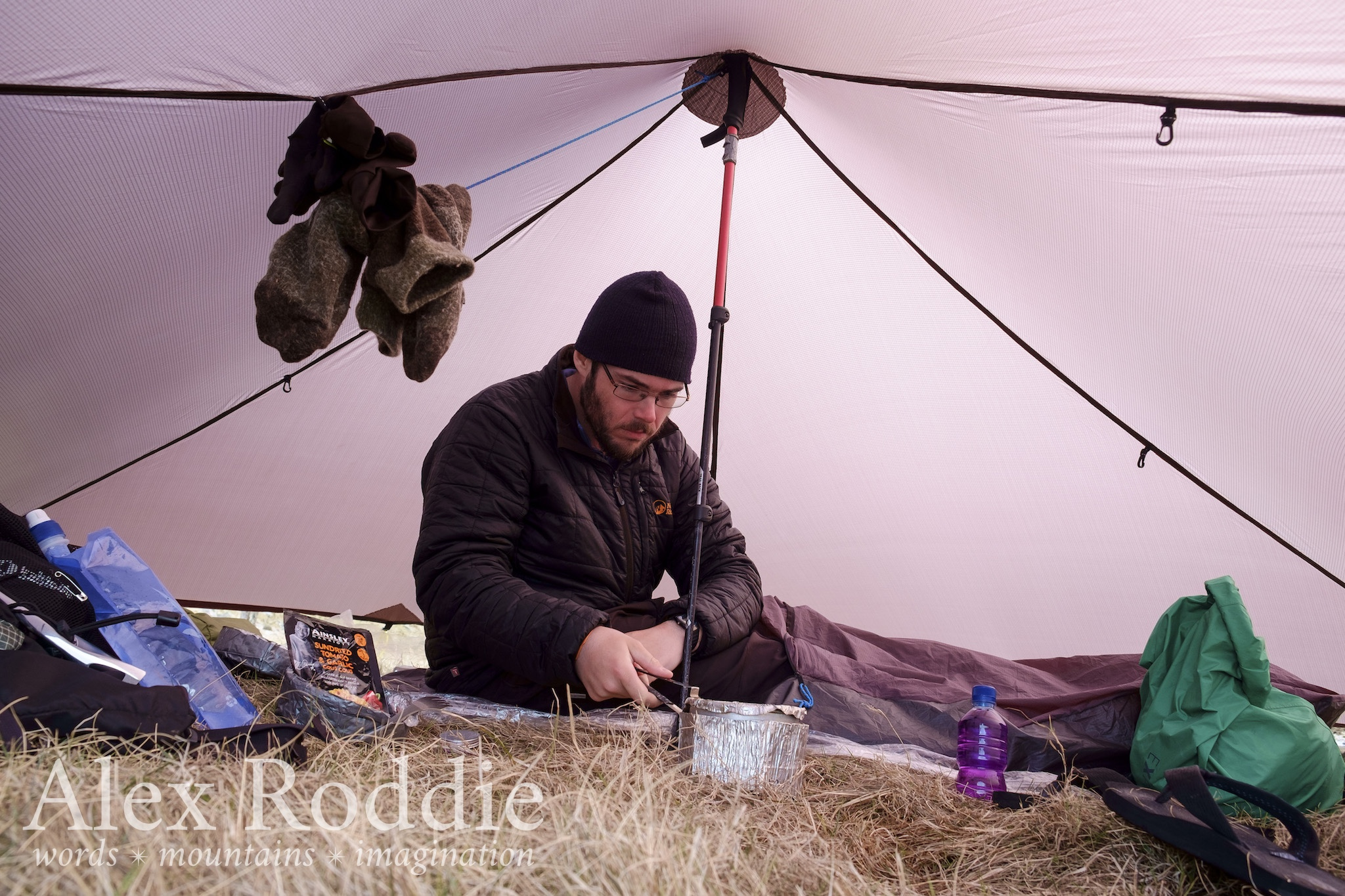 Life without an inner tent is pretty sweet... until the midges come out