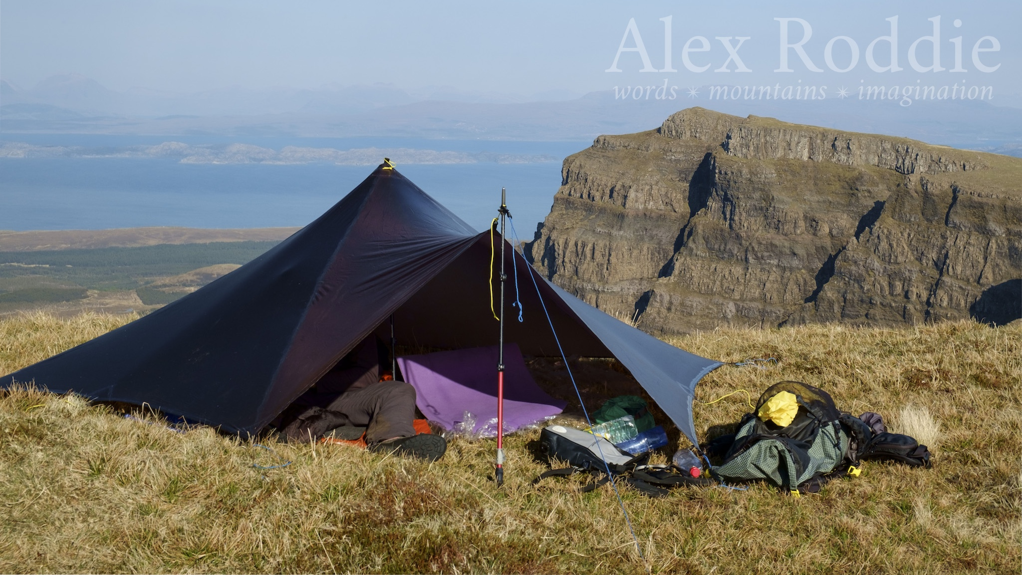 My best Trailstar camp of the year, on the Trotternish Ridge