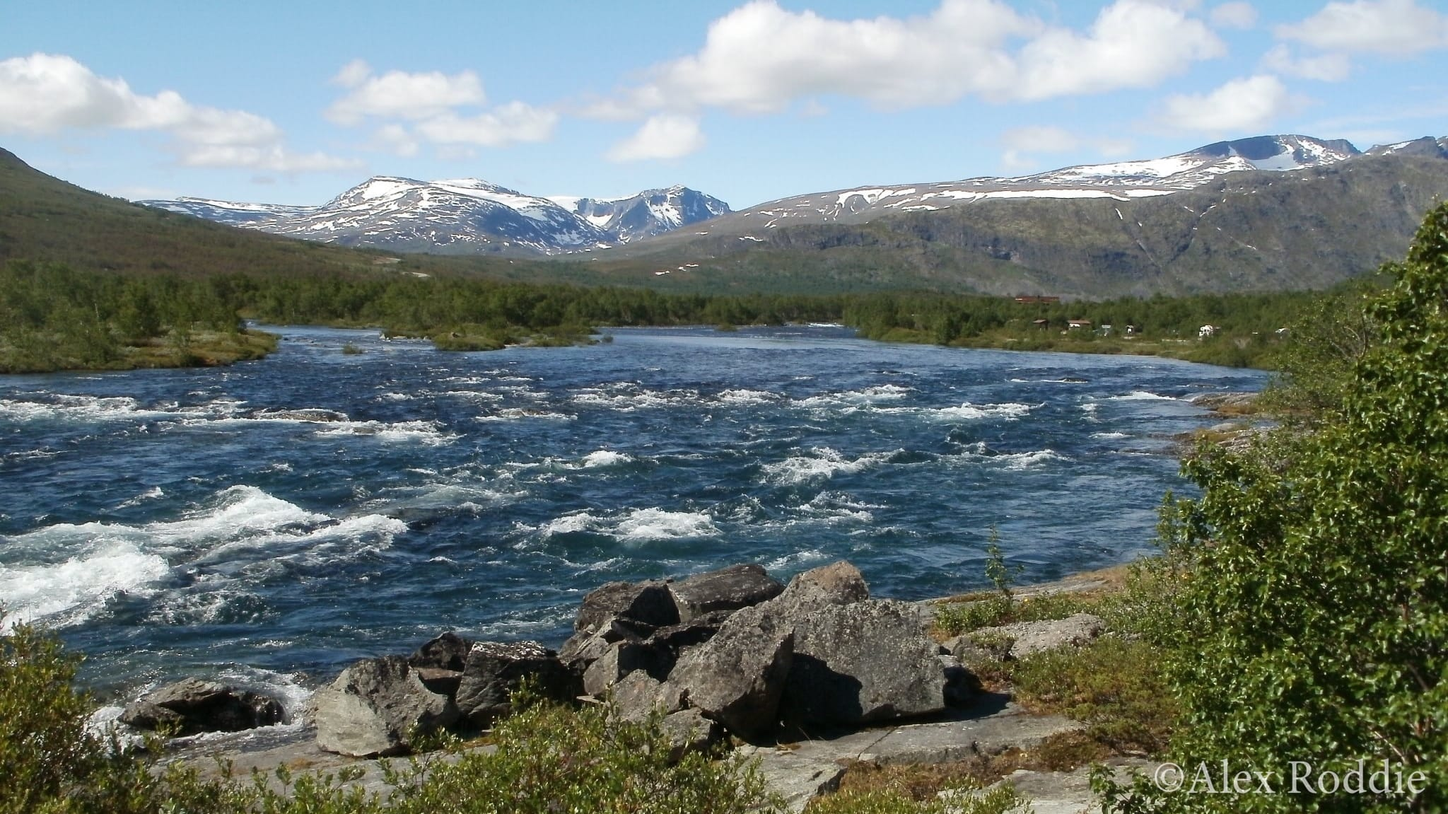 Jotunheimen backpacking