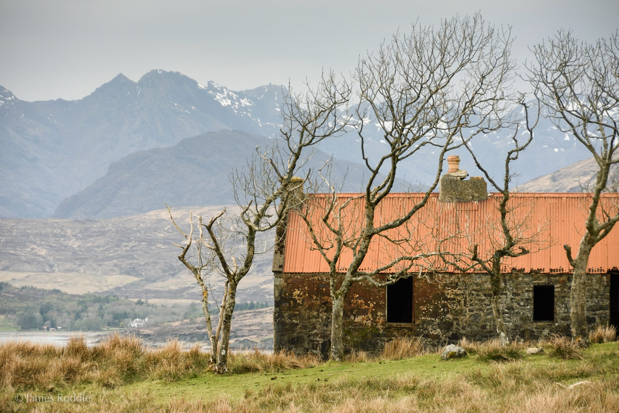 The abandoned house at Suisnish