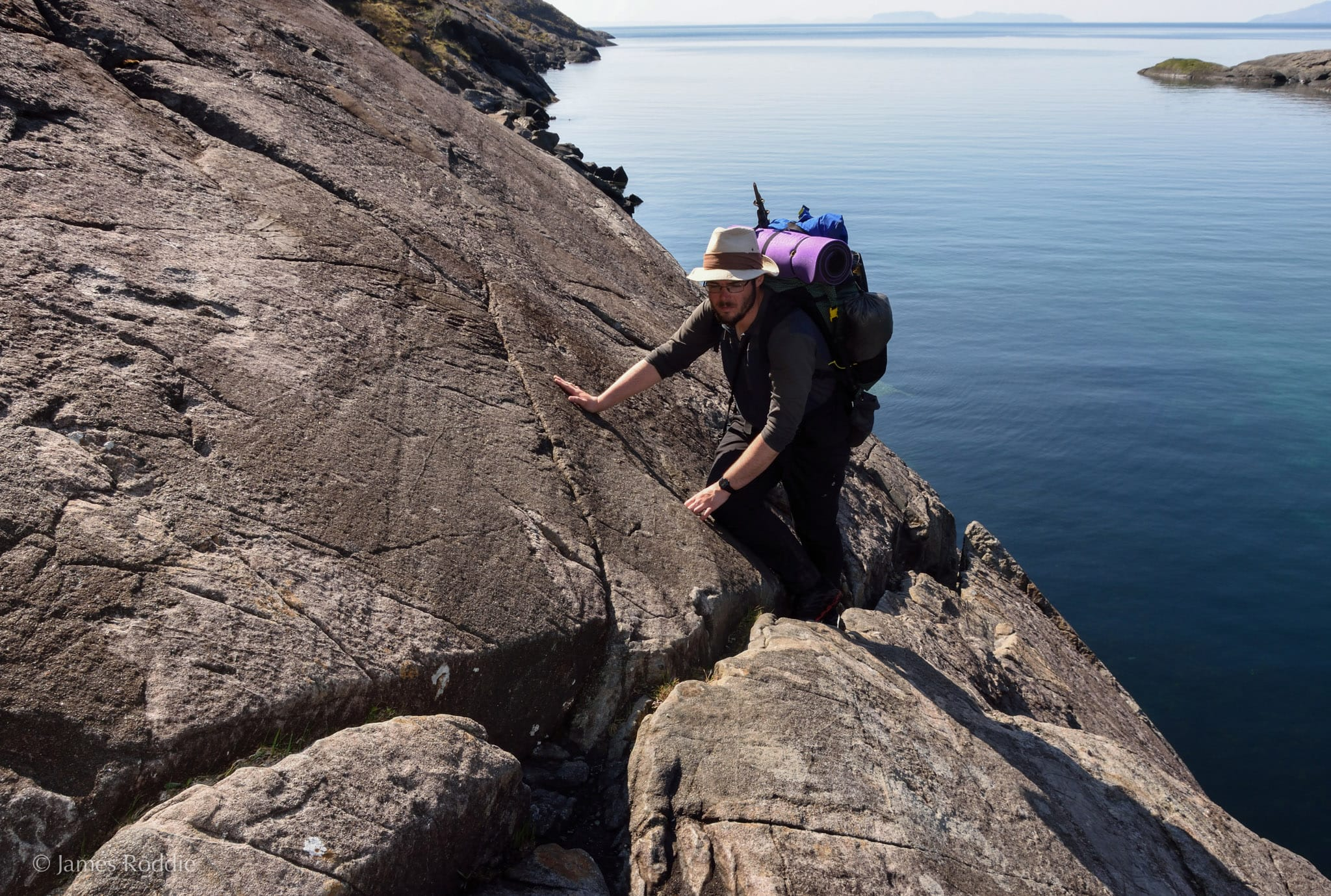 Tackling 'the Bad Step' on the approach to Coruisk