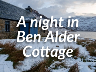 A Night in Ben Alder Cottage