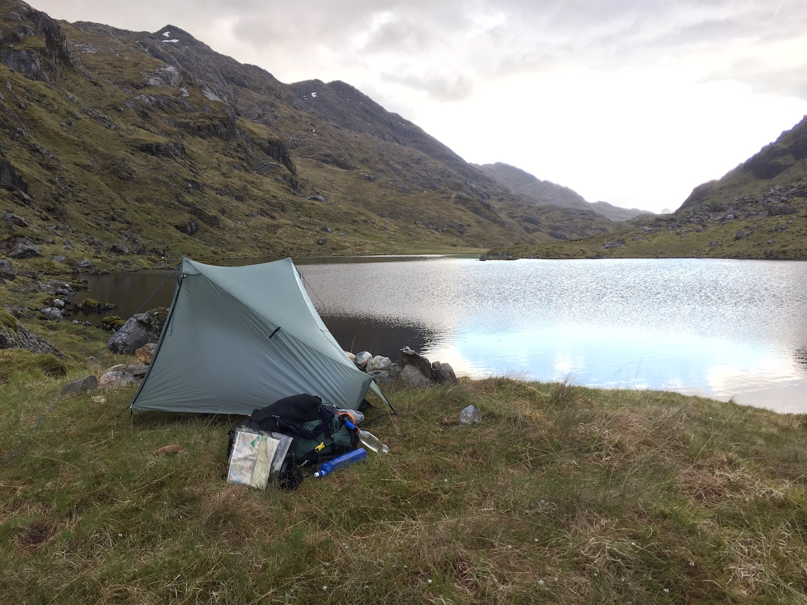 Tarptent Notch on the Cape Wrath Trail in 2015
