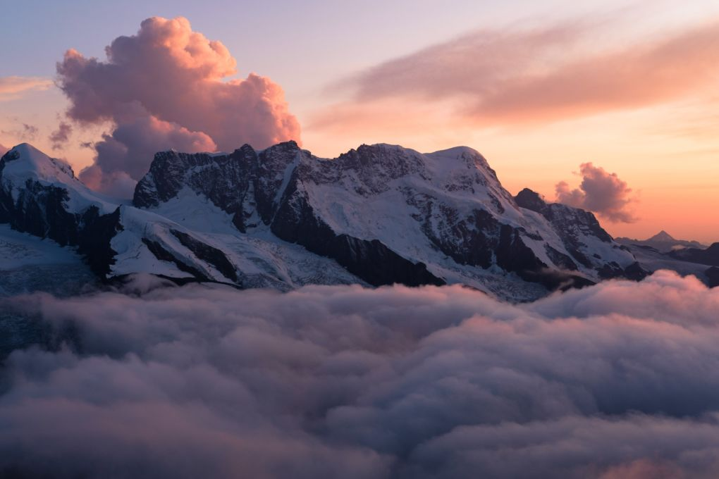 Last light on Breithorn © Alex Roddie
