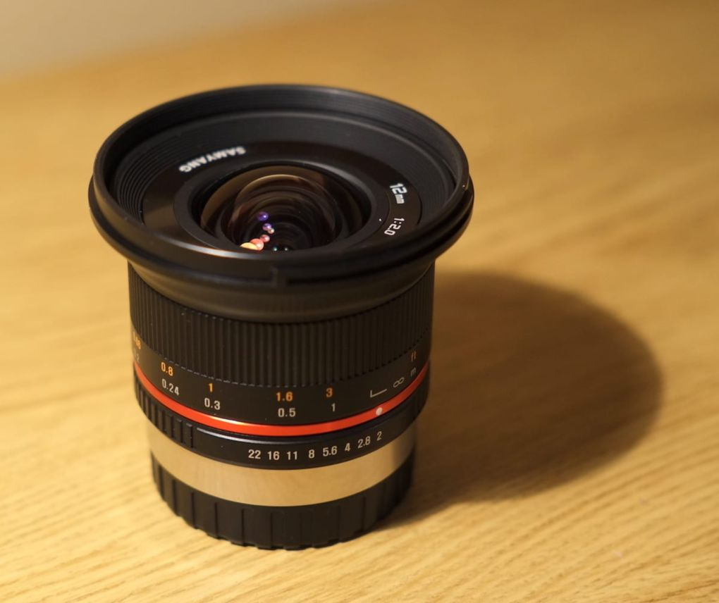 Samyang 12mm f/2 © Alex Roddie